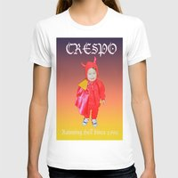 tina crespo T-shirts featuring Crespo by W.R. Buhler