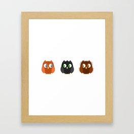 Owly Potter Framed Art Print