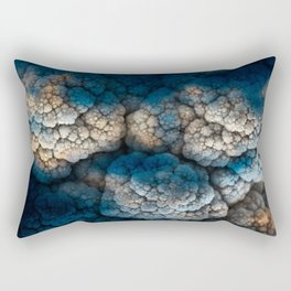 Celestial Cauliflower Kiss Rectangular Pillow
