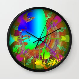 when the music hits Wall Clock