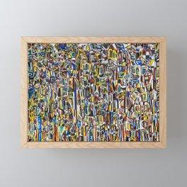 50 Fists Framed Mini Art Print