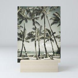 Kuau Beach Palms Maui Hawaii Mini Art Print