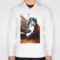 dylan Hoodies featuring Bob Dylan by Maioriz Home