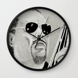 Charles Mingus Wall Clock