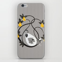 twirly bird iPhone Skin
