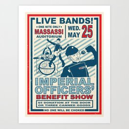Imperial Officers' Benefit Show Art Print