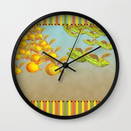 Figs can fly Wall Clock