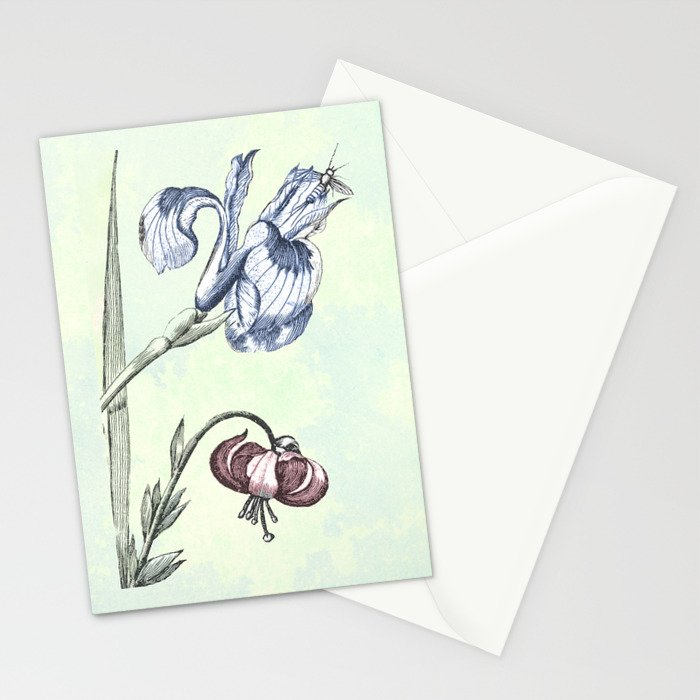 Nature is a temple Stationery Cards