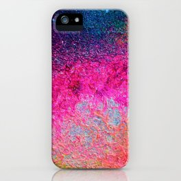 Pink Galaxy 2 iPhone Case