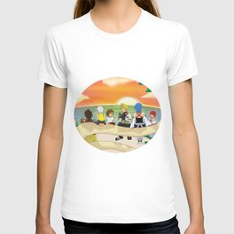 Together at sunset T-shirt