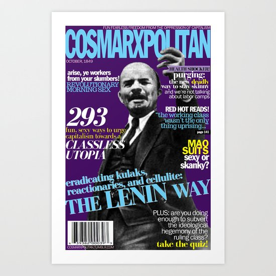 COSMARXPOLITAN, Issue 3 Art Print