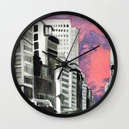 Metropolitan Impressions Wall Clock