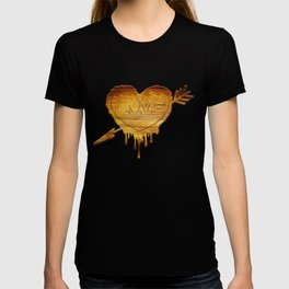 Love in wood T-shirt