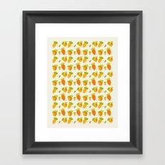 Carrot Framed Art Print