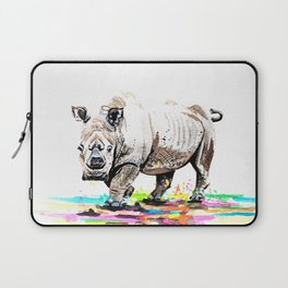 Sudan the last male northern white rhino Laptop Sleeve