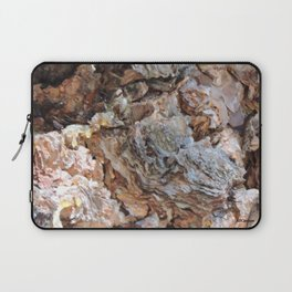 TEXTURES: Weeping Big Cone Pine Bark Laptop Sleeve