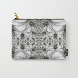 Fractal Freeclimbing, Modern Art With Perspective Carry-All Pouch
