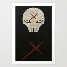 Red X Art Print