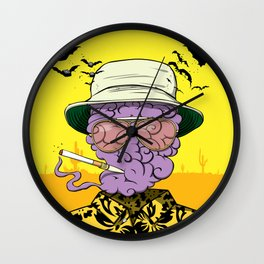 Dr. Gonzo Wall Clock