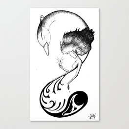 Phone Design 01 Canvas Print