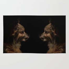 Long-Coat Chihuahua Rug