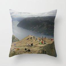 Preikestolen, Norway (2) Throw Pillow