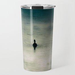 Duck Silhouette  Travel Mug