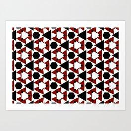 Van Steensel Pattern Art Print