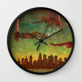 City Rising (Dreamers #2) Wall Clock