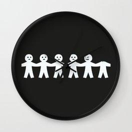 Victims of Circumstance Wall Clock
