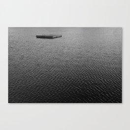 Gone Swimmin' Canvas Print