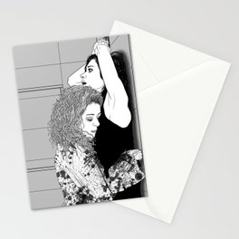 Orphan Black - Sarah/Helena S2 Shower Scene (Original Artwork Print) Stationery Cards