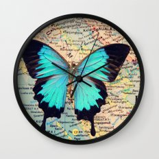 Flying home! Wall Clock