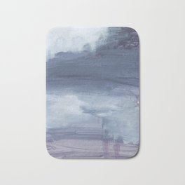 Number 80 Abstract Sky Bath Mat