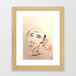 Endless Cycle Framed Art Print