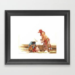 Atis Vendor Framed Art Print