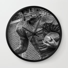 Florida Football Statue Gainesville Wall Clock