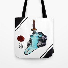 Sword Swallower Tote Bag