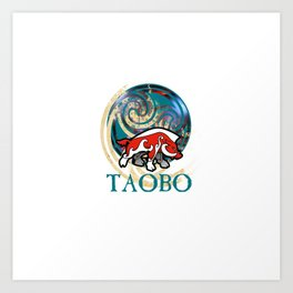 TAOBO The art of Brendon O'Farrell Art Print