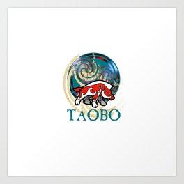 TAOBO The art of Brendon O'Farrell Art Print