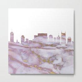 Nashville Tennesse Skyline Metal Print