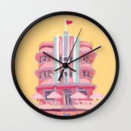 South Beach Deco Wall Clock