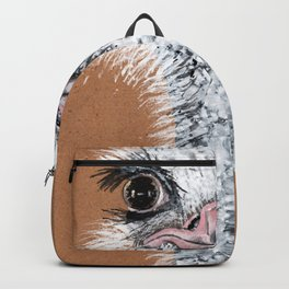 Ostrich animal Backpack