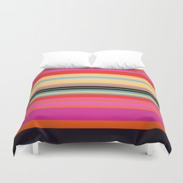 Sunset Stripes Duvet Cover