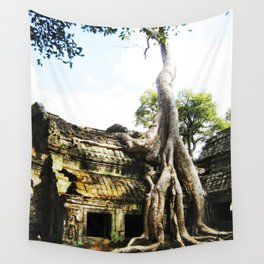 The Tree Temple Wall Tapestry