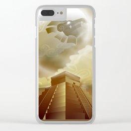 El Castillo Clear iPhone Case