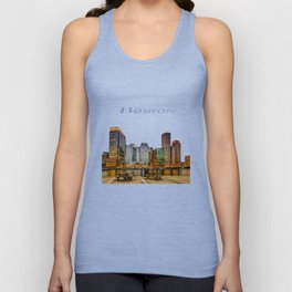 Boston Financial District Unisex Tank Top