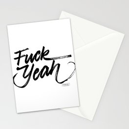 Fuck Yeah Stationery Cards
