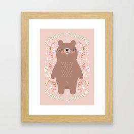 Dreamy Bear Framed Art Print