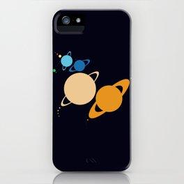 Solar System Unicorn iPhone Case
